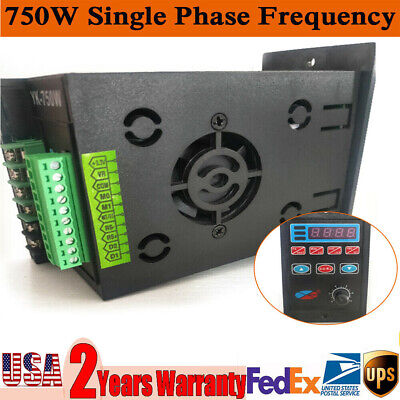 Ac 220v Single To 3 Phase Variable Frequency Drive Inverter Converter Usa