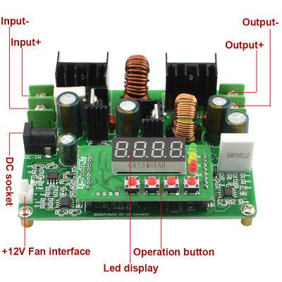 D3806 Cnc Dc Constant Current Power Supply Step Down Up Module Volt Ammeter