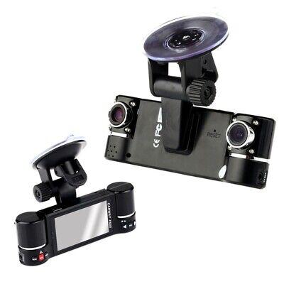 Dual Cámara de video para coche 720 PHD DVR Visión nocturna Car...