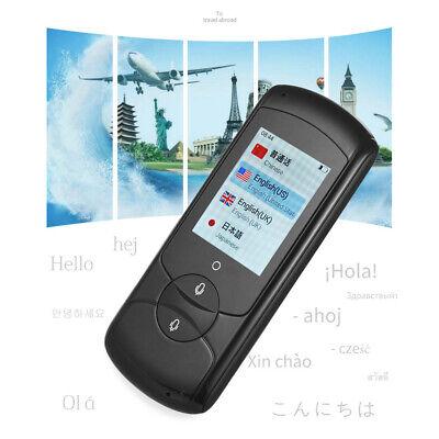 Portable Translator Device Support 41 Languages Offline Translationfor Black
