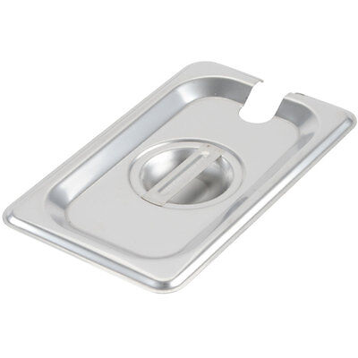 9 Pack 19 Size Slotted Stainless Steel Steam Table Hotel Pan Lid Cover