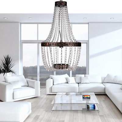 Gorgeous Crystal Chandelier classic Ceiling Fixture Light Lamp Pendant foyer A++