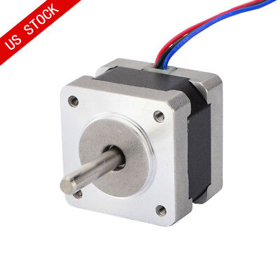 Us Ship Nema 14 Stepper Motor 0.9deg400 Stepsrev 0.4a 15.6oz.in Bipolar Osm