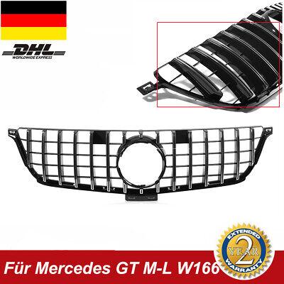 Sport-Panamericana GT Kühlergrill Chrom passt für Mercedes-Benz ML W166 NEU