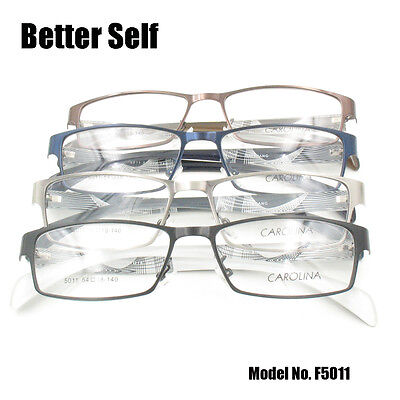 Acetate Temples Frame - Optical Frames Rectangle Spectacles Metal Eyeglasses HD Acetate Temple Eyewear