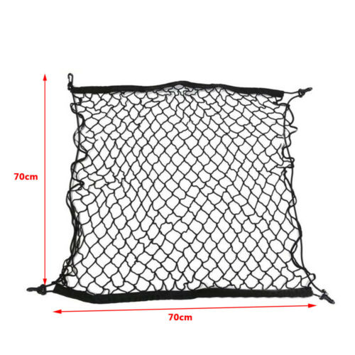 27x27inch Car SUV Rear Trunk Cargo Net Mesh Storage