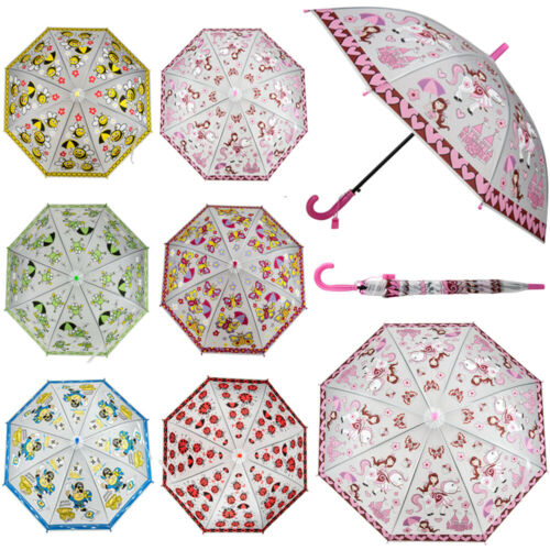 autiomatic rainproof windproof cute cartoon umbrellas