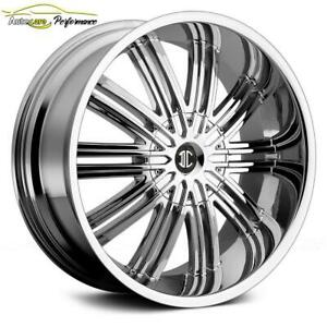 MAGS CADILLAC ESCALADE LINCOLN FORD GMC 24 CHROME NEUFS / ENSEMBLE MAGS ET PNEUS DISPONIBLE