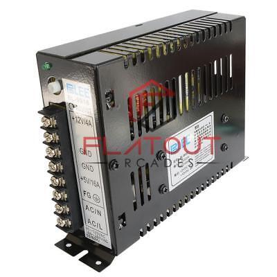 Universal Input 220V/110V Output 12V +5V 16A Switch Power Supply Jamma Arcade/Pi