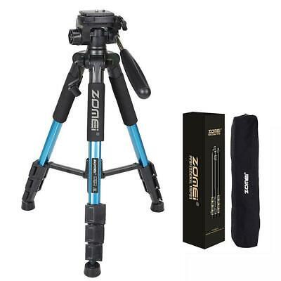 ZOMEI Q111 Professional Aluminum Travel Tripod+Pan Head Portable for Camera Blue