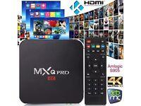 Android TV Boxes MXQ PRO & Fire Sticks **Kodi 17.1 *Sports, Movies, TV Shows, KIDS, Fitness, Live TV