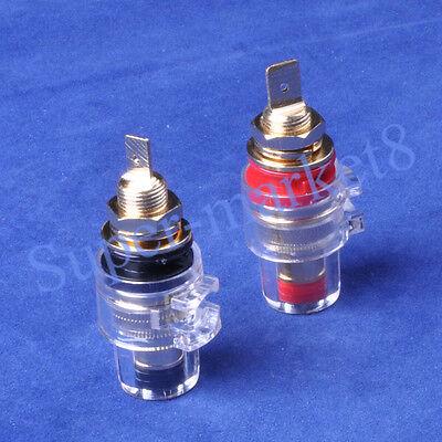 2Pair Speaker Cable Tube Amp Terminal Plug Binding post