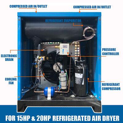 Refrigerated Air Dryer Compressor Compressed Refrigeration Compressor 91cfm 110v