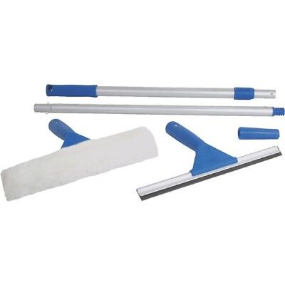 Ettore Window Cleaning Kit - Squeegee / Washer + 6' Pole 17050