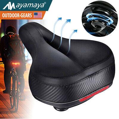 Comfort Wide Bike Seat Cushion Soft Padded Mountain Cruiser Road Bicycle Saddle Comfort Bike Saddle Seat