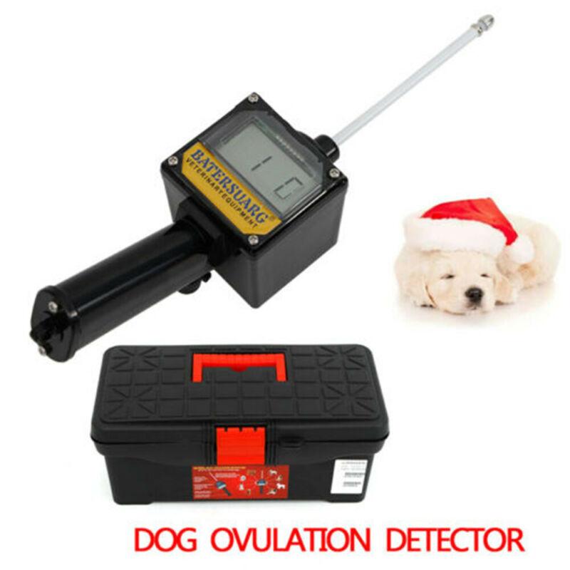 Dog Ovulation Detector Tester Pregnancy Planning Breeder Canine Mating+Case