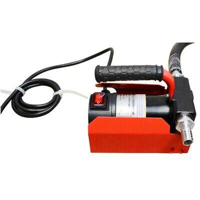 Portable Dc Fuel Oil Transfer Pump Fluid Diesel Kerosene 10.5 Gpm Self Priming