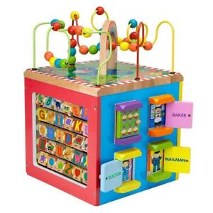 NEW ALEX Toys - ALEX Jr. My Busy Town - Baby Wooden Developmental Toy 4W Condtion: New