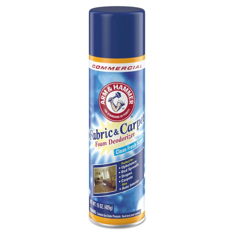Arm & Hammer Fabric/Carpet Foam Deo Fresh Scent 15oz 8/ctn 3320000514CT NEW