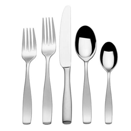 Gourmet Basics by Mikasa 5148973 Westfield 20-Piece Stainles