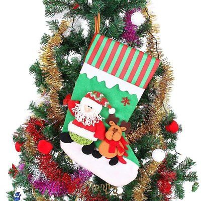 Christmas Tree Stocking Ornament 18