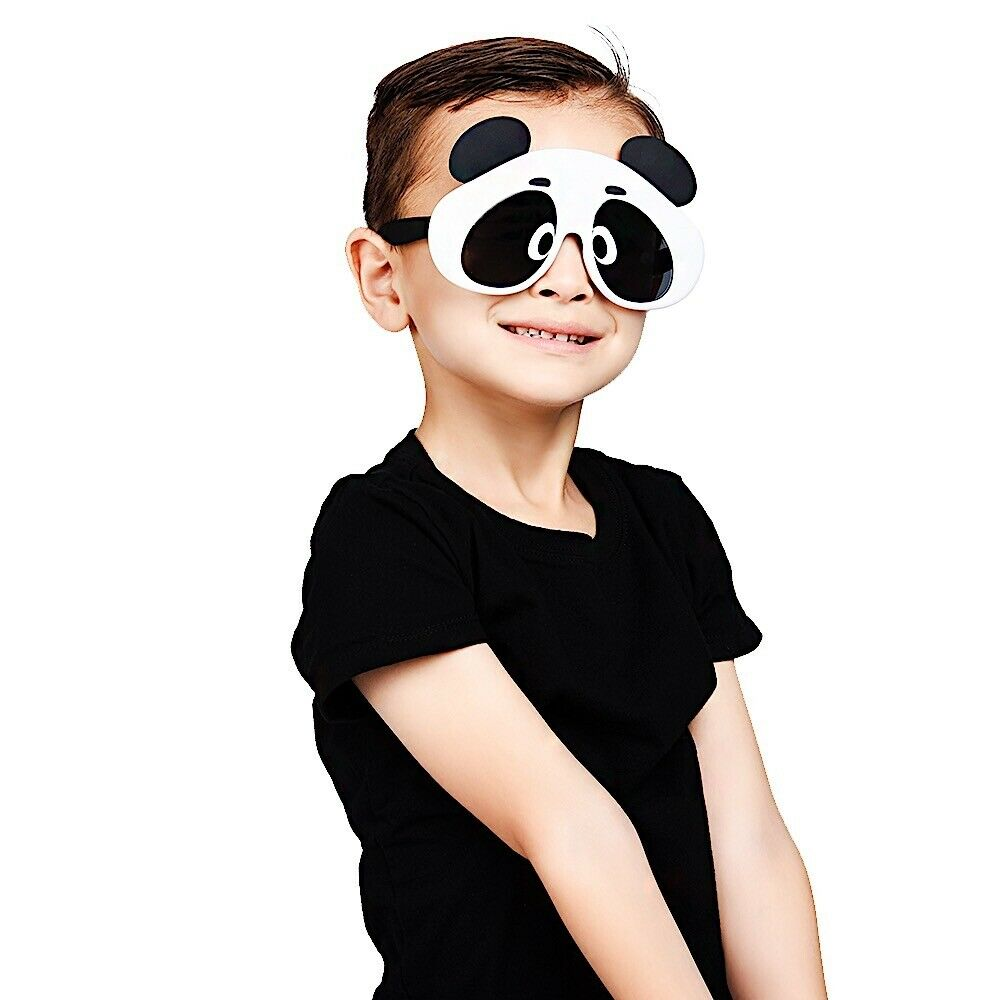 Kids Panda Animal Character Shades Costume Party Favors Sung