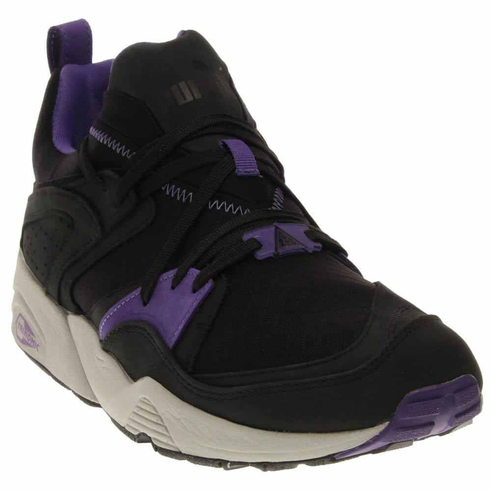 Puma Blaze Of Glory Trinomic Crackle  Casual Running  Shoes Black - Mens - Size