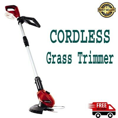 Cordless Lawn Trimmer with a telescopic handle 240 mm cutting circle UK