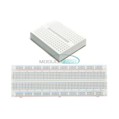 Mb-102 Mb102 830 Point Pcb Breadboardmini White Solderless Prototype Breadboard