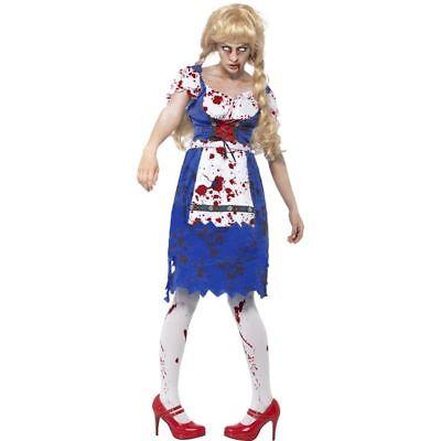 n Kostüm Zombie Tirolerin Dirndl Zombiekostüm (Halloween Dirndl Kostüm)