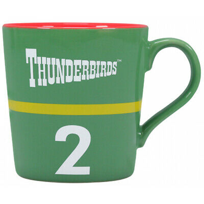 Tapered Ceramic Mug (Half Moon Bay Thunderbird 2 Tapered Ceramic Mug - Gift Boxed )