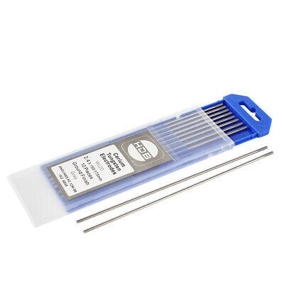 Blau TEN-HIGH WIG Wolfram Elektrode WL-20 2,0 x 150 mm 10x Wolframnadeln f/ür WIG Schwei/ßen
