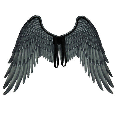 Devil Wings Cosplay Prop Decor Adult Black Feather Wings Party Costume Supplies - Demon Wings Costume