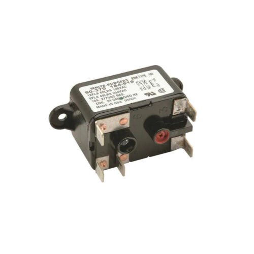 White Rodgers Relay, Fan, 24 Vac, Switch Type: SPDT 90-370