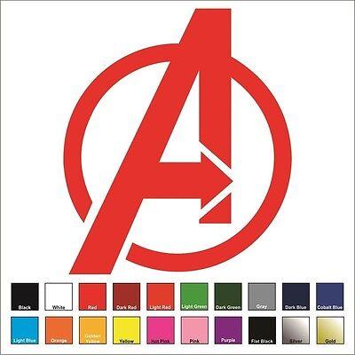 Avengers Vinyl Decal / Sticker - Choose Color & Size - Marvel, Iron Man, - Iron Man Decal