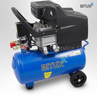 24L Druckluftkompressor Kolben Druckluft Kompressor Luftdruckkompressor 8bar