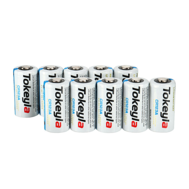 USA 20X Tokeyla 3V CR123A 123 123A CR17345 3Volt Lithium Batteries For Camera - $17.71