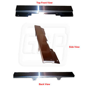 86-87 Grand National GN T-Type Stainless Radiator Top Hold Down Mounting Plate