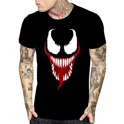 Halloween Movie For Kids (Venom Face Movie Inspired T Shirt Halloween Gift For Tees Mens Womens Youth)