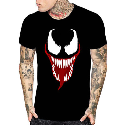 Venom Face Movie Inspired T Shirt Halloween Gift For Tees Mens Womens Youth - Halloween Movie For Kids