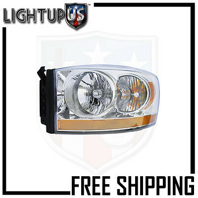 Headlights Headlamps Left Only for 06-08 Dodge Ram 1500 2500 3500