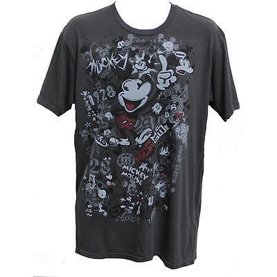 NWT Mickey Mouse Mickey Rocks T-Shirt Disney Classic Super Cool Disneyland - Mickey Mouse Mickey