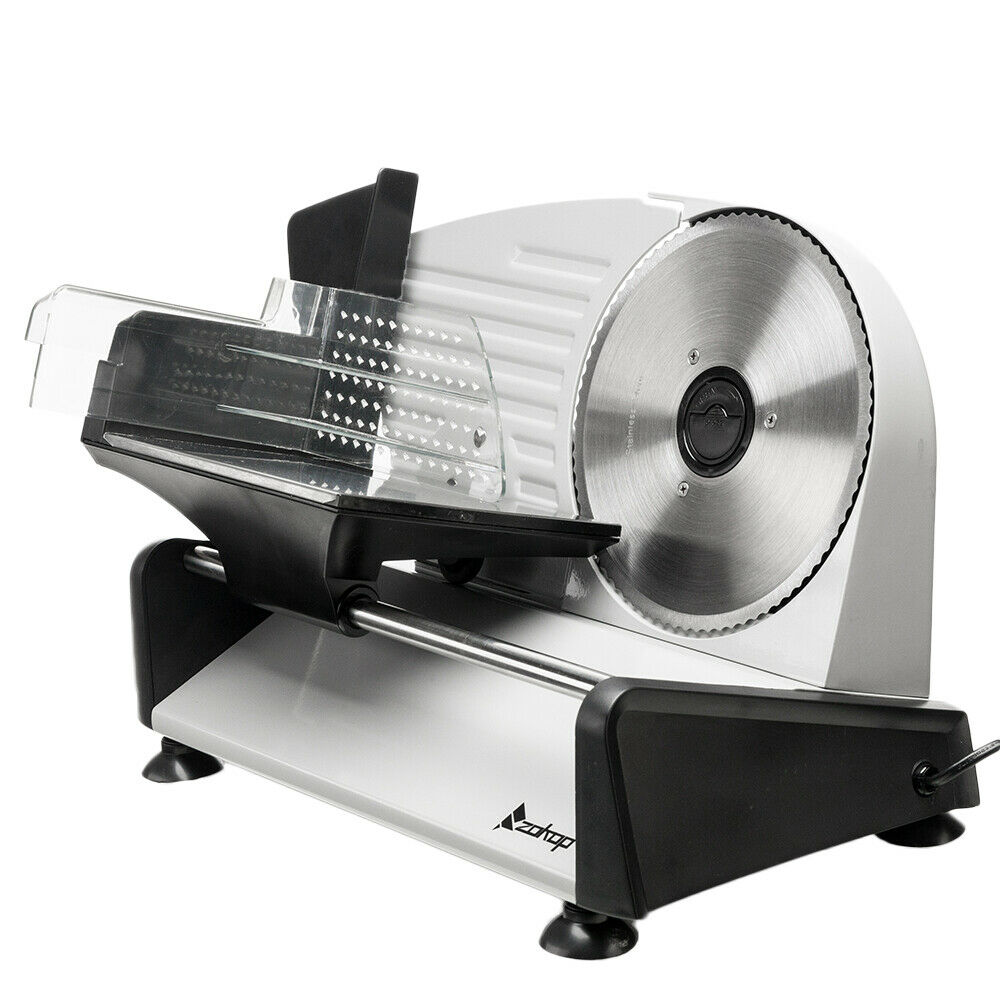 7.5 150W Gear Electric Meat Vegetable Cheese Bread Slicer Stainless Steel Blade - $73.85
