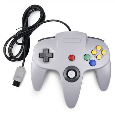 For N64  Controller Joystick Long Wired N64 Gamepad Joypad  Console Game