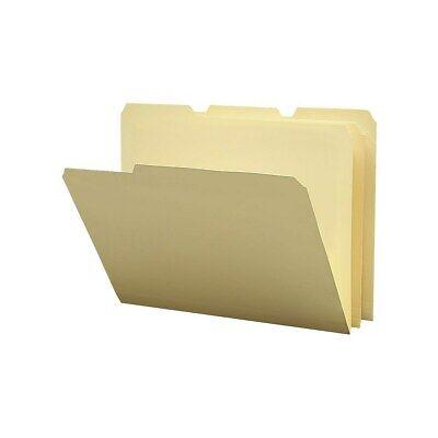 Staples Poly Manila File Folders Letter 3 Tab 12pack 36049-cc 576950