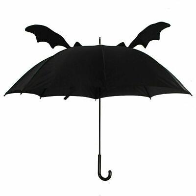 Bat Wings Umbrella - Fun Novelty Design - Black Gothic Halloween Vampire](Novelty Umbrella)