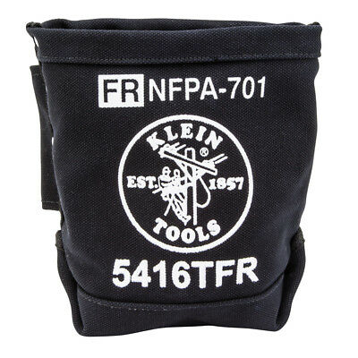 Klein Tools 5416TFR Flame-Retardant Canvas Bull-Pin and Bolt Bag ()