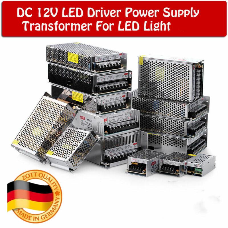 DC 12V 2A-30A LED Netzteil Trafo Schaltnetzteil Adapter Treiber Power Supply New