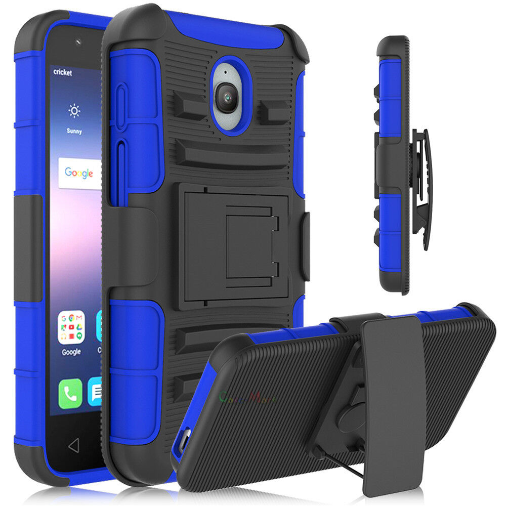 Купить CaseMart Combo 3 in 1, Full Protection - For Alcatel Ideal / Dawn 5027B Phone Case Holster Hybrid Stand Holder Back Cover