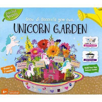 Grafix Creative Sprouts Grow & Decorate Your Own Unicorn Garden Set